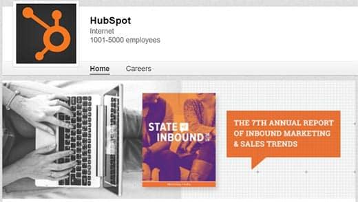 Компания LinkedIn от компании HubSpot