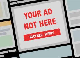 Около 33% интернет-пользователей будет использовать блокировщик рекламы в этом году
