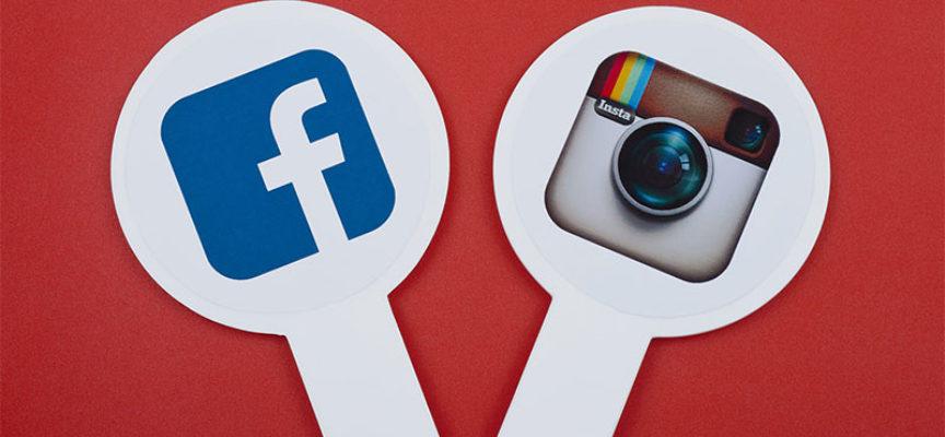 Различия при реклама в Instagram и Facebook