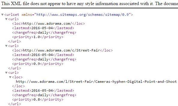 XML-sitemap-HTTP