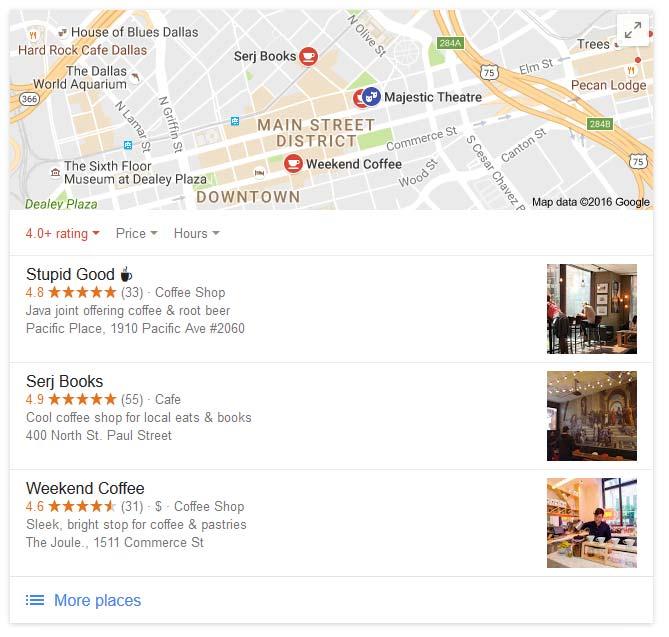 Использование смайликов в Google адреса