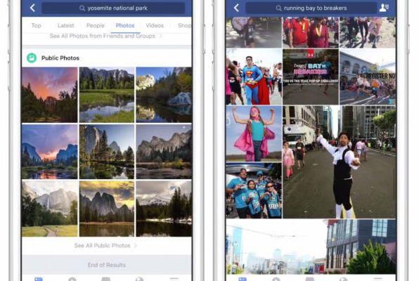 Facebook Image Search серьезно обновился