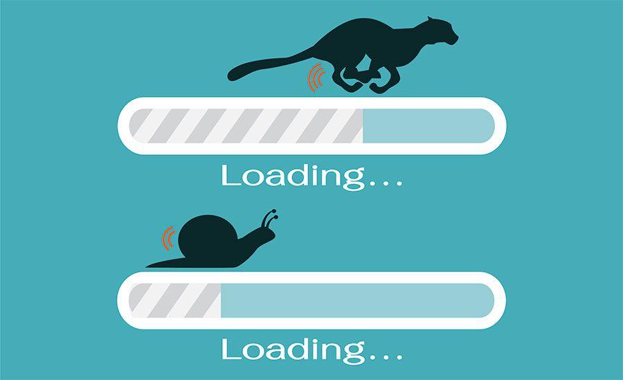 скорость загрузки страниц