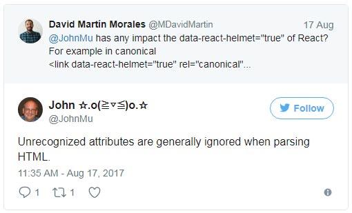 Google игнорирует не поддерживаемые атрибуты при анализе HTML