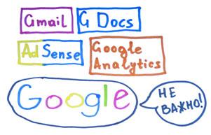 Роль служб и приложений от Google